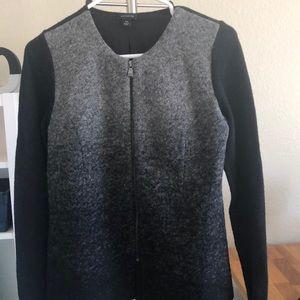 Beautiful black and gray Ann Taylor jacket